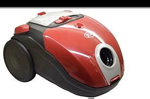 Мешковый пылесос Promotec PM-653 для сухой уборки 2000W мощный качественный пылесос красный