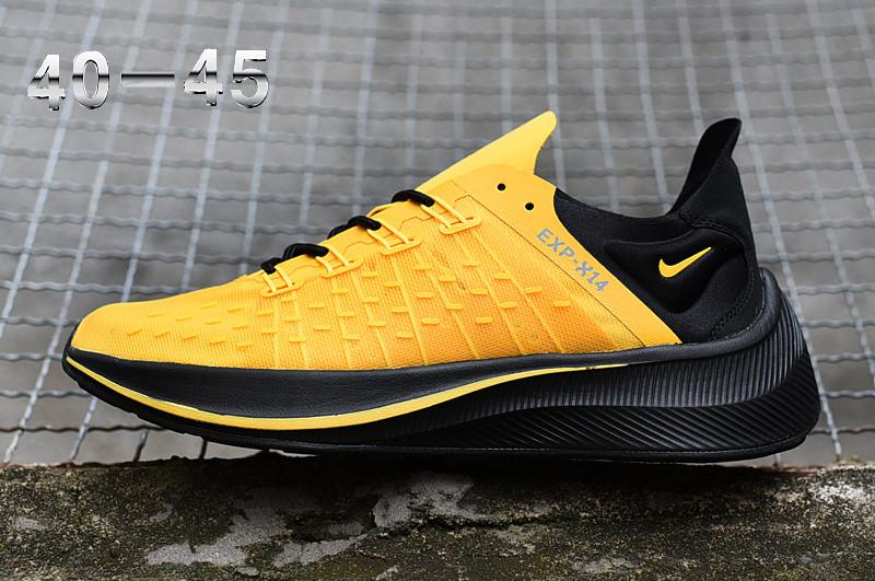 """Кроссовки Nike Exp-X 14 """"Желтые\Черные"""""""
