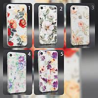 Чехол силиконовый Garden для Apple iPhone 7