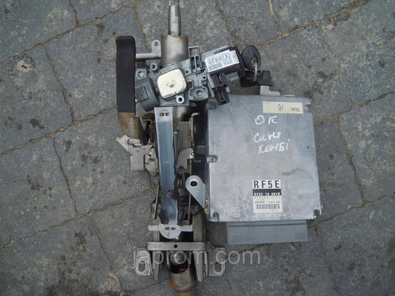 Блок управления двигателем комплект Mazda 6 GG 2002-2007г.в. RF5E