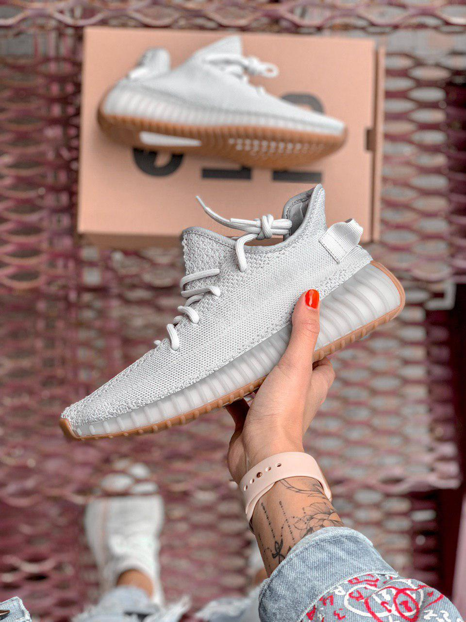 outlet store c417c fe24b Кроссовки Adidas Yeezy Boost 350 V2 light grey