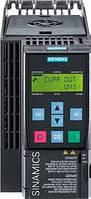 Частотный преобразователь SINAMICS G120C, 6SL3210-1KE12-3UB1, 0,75 кВт, 2,2 А