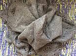 Платок Жучки  Ш-00124, серый, оренбургский платок, фото 3