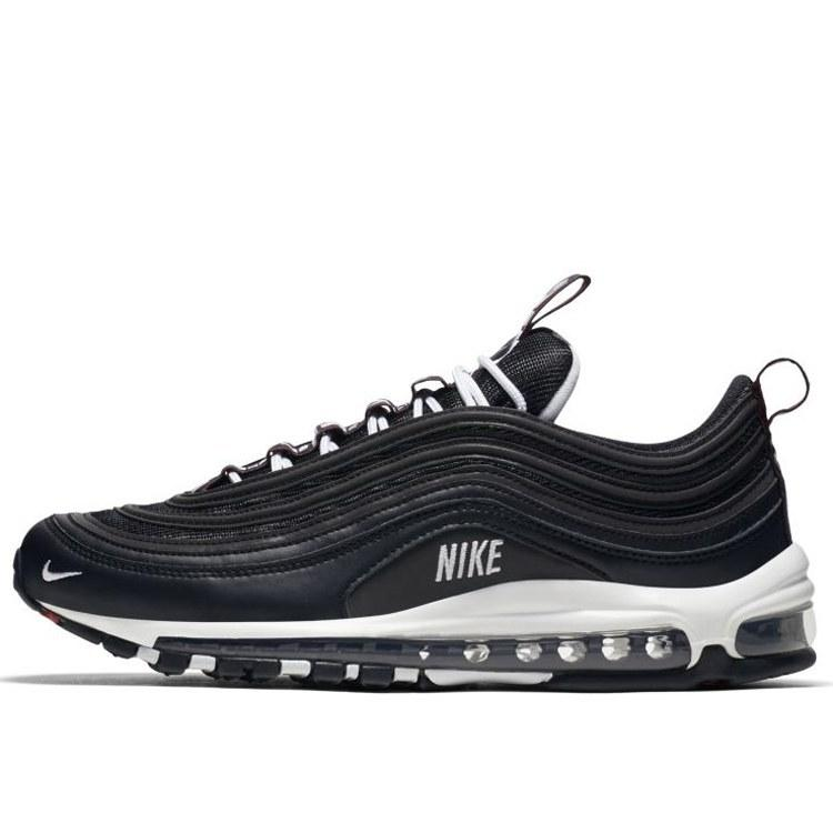 Nike Air Max 97 Premium Black White Varsity Red