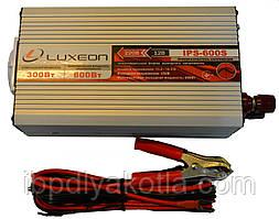 Инвертор напряжения Luxeon IPS-600S (300Вт), чистая синусоида, преобразователь 12 в 220