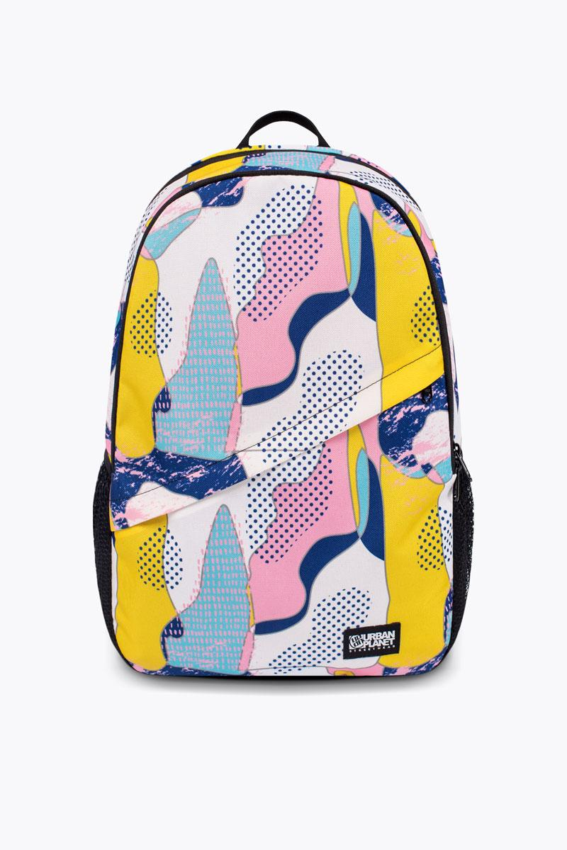 Стильний рюкзак шкільний Urban Planet B8 ABS 30л. 45x29.5x13см. кольоровий