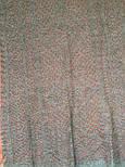 Палантин Морозные узоры. Ромбы П-01157, серый, оренбургский шарф (палантин), фото 5