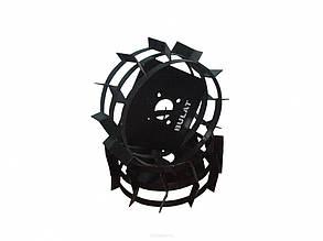 Колеса с грунтозацепами Ø 380мм (профильная труба 15х15, высота зацепа 40мм) Агромарка