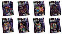 Картини з кристалами самоклеючими. Мозаїка. Набір для творчості ʺCrystal Mosaicʺ CRM-01-01 10...