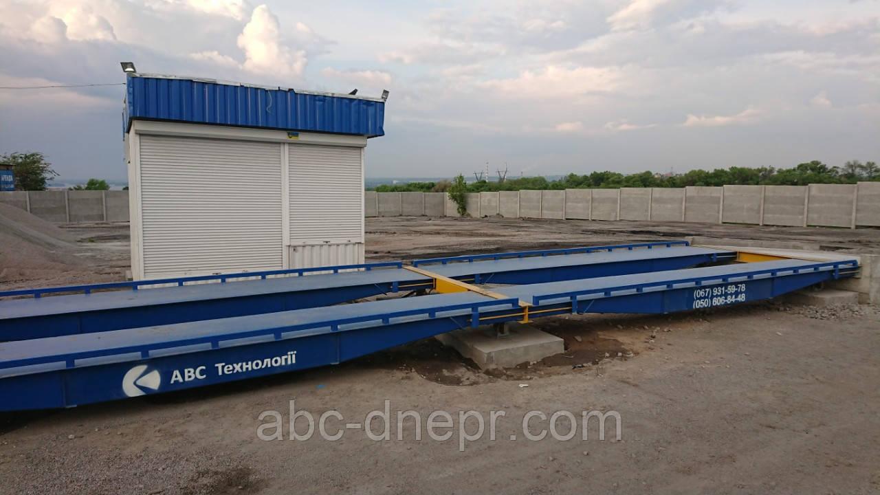 Автомобільні ваги 18 метрів 80 тон