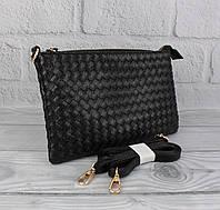 Клатч, сумочка через плечо Valensiy 619-1 черная, фото 1