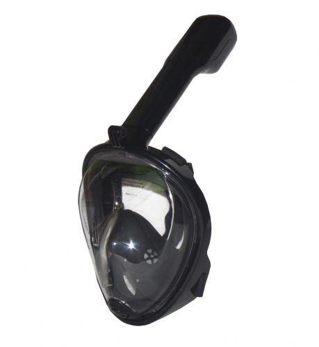 Маска для снорклинга (черная) L/XL TT19001