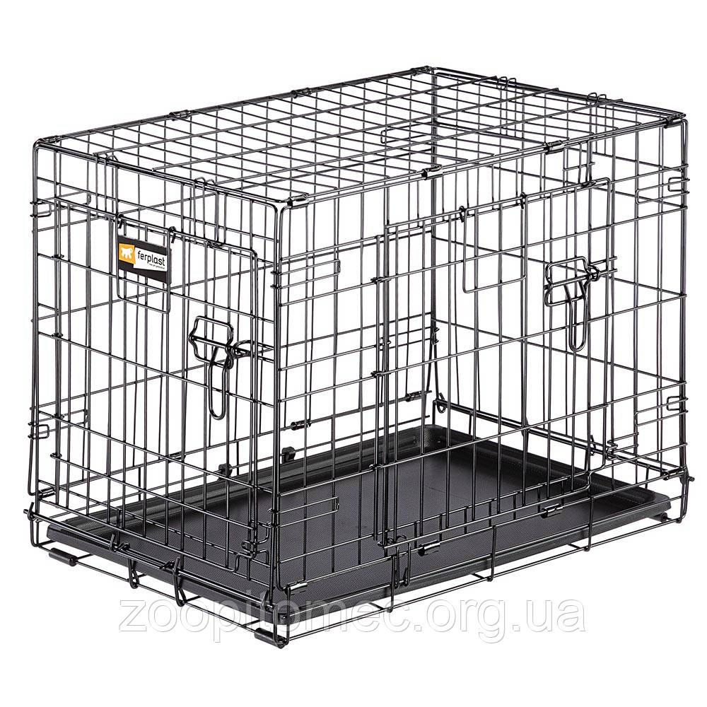 Вольер клетка для собак Ferplast (Ферпласт) DOG-INN 60 метал 64,1*44,7*49,2 см