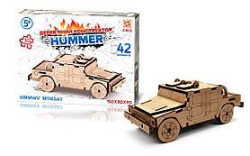 Деревянный 3D Пазл Hummer HMMWV M1165A1 Zirka