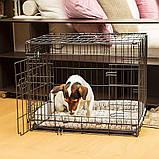 Вольер клетка для собак Ferplast (Ферпласт) DOG-INN 60 метал 64,1*44,7*49,2 см, фото 3