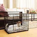 Вольер клетка для собак Ferplast (Ферпласт) DOG-INN 60 метал 64,1*44,7*49,2 см, фото 6