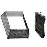 Вольер клетка для собак Ferplast (Ферпласт) DOG-INN 60 метал 64,1*44,7*49,2 см, фото 2