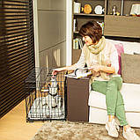 Вольер клетка для собак Ferplast (Ферпласт) DOG-INN 60 метал 64,1*44,7*49,2 см, фото 9