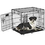 Вольер клетка для собак Ferplast (Ферпласт) DOG-INN 60 метал 64,1*44,7*49,2 см, фото 4