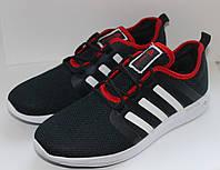 Кроссовки мужские в стиле Adidas Bounce, темно-синие , р. 44