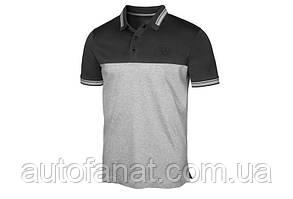 Оригинальная мужская рубашка-поло Mercedes-Benz Men's Polo Shirt, grey (B66958686)