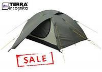 Трехместная палатка Terra Incognita Alfa 3 хаки