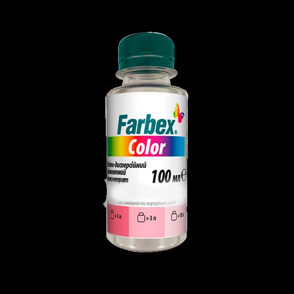 Пигментный концентрат водно-дисперсионный Farbex Сolor черный