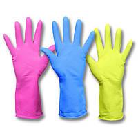 Рукавички гумові для господарських робіт Household Gloves