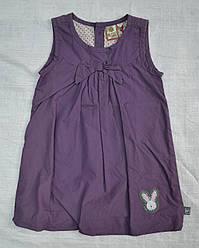 Детский хлопковый сарафан фиолетовый (Quadri Foglio, Польша)