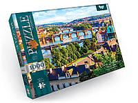 Пазлы Река Влтава, Прага, Чехия, 1000 эл