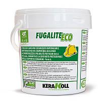 Затирка для плитки и мозаики Kerakoll Fugalite Eco BIAŁY 01 (белый) - эпоксидная, двухкомпонентная, ведро 3 кг, фото 1