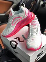 Женские кроссовки в стиле Nike Air Max 720 White Pink (36, 37, 38, 39, 40 размеры), фото 2