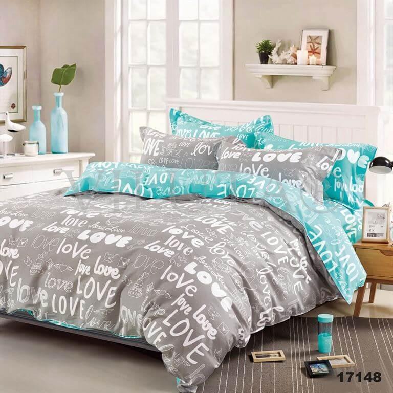 Двуспальное постельное белье Вилюта 17148 ранфорс