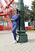 Женский брючный костюм из льна (кофта и брюки), фото 3
