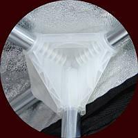Cоединение пластиковое на 4 трубки 16 мм Secret Jardin