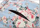 Школьный рюкзак с цветами для девочки Miyahouse голубой (AV188), фото 5