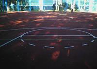 Синтетическое покрытие для уличных спортивных площадок