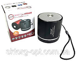 Портативная колонка WSTER WS-231BT  MP3, FM, USB, Bluetooth