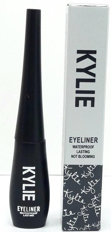 Подводка Kylie Eyeliner Waterproof ( водостойкая ) - твердая кисть