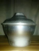 Порционный алюминиевый казанок 0,75л