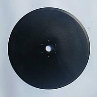 Диск сеялки Kuhn 350х3мм ф32мм 6отв.6.5мм,90град.,межосевое ф85мм ст65Г (N02502AO)