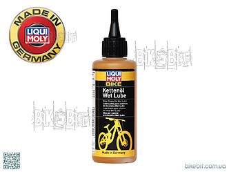 Мастило для ланцюгів велосипедів (дощ / сніг) LIQUI MOLY Bike Kettenoil Wet Lube. 6052