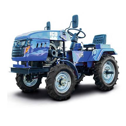 Трактор минитрактор дизельный ДТЗ 160 Синий ( 16 л.с.), фото 2