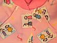 Комбинезон детский для девочки, в розовом цвете на рост 80 см, фото 2