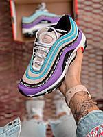 Жіночі кросівки Nike Air Max 97 Violet, Репліка, фото 1