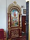 Церковний підлоговий кіот (1200х3200 мм), фото 7