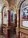 Церковний підлоговий кіот (1200х3200 мм), фото 8