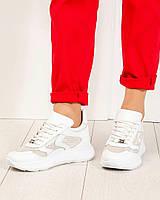 Летние кроссовки женские белые