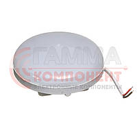 Светодиодный светильник накладной ЖКХ 9Вт, круглый, холодный белый, IP44