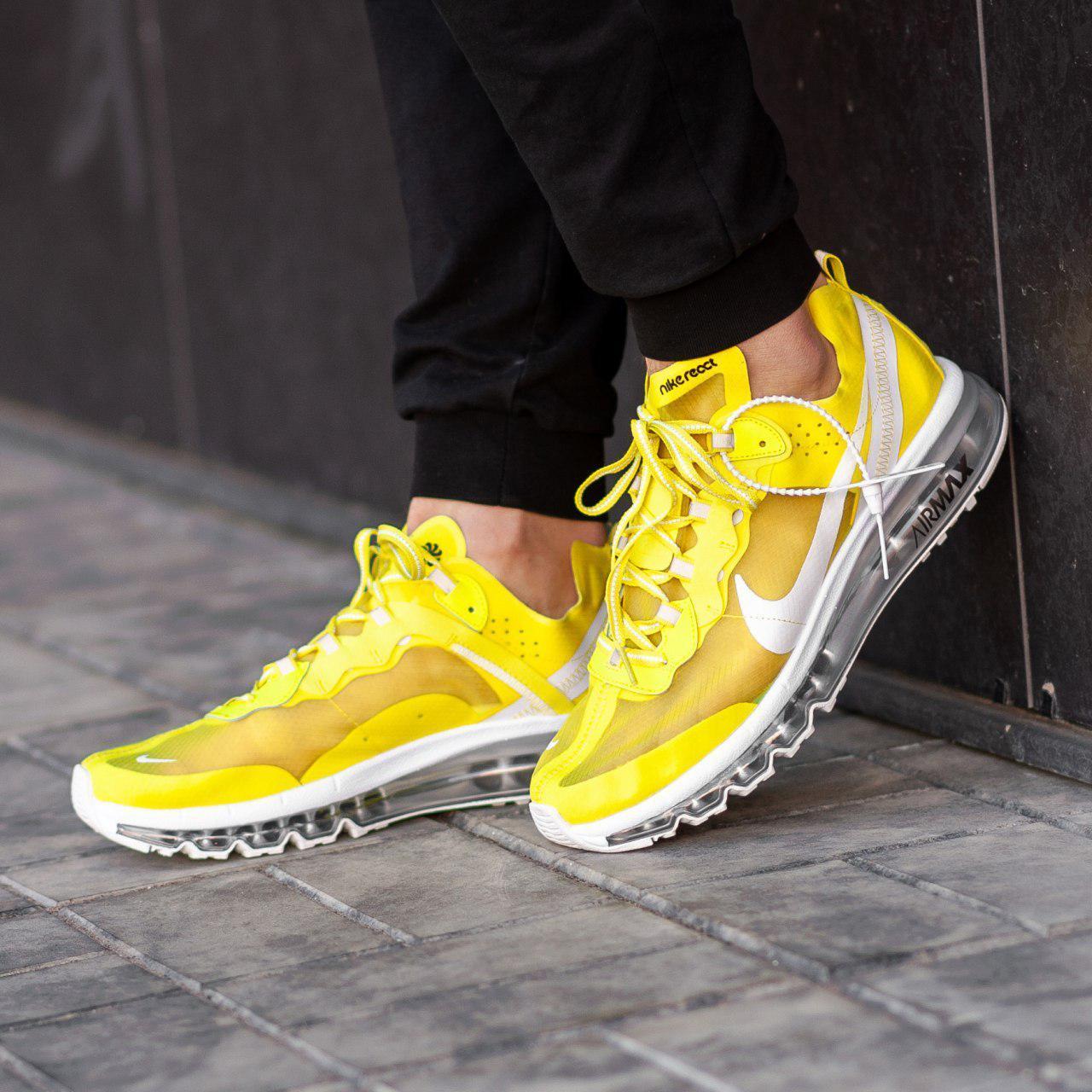 new concept af113 eba46 Nike Air Max 2017 x React Element 87 Yellow   кроссовки мужские; летние;  желтые - Bigl.ua